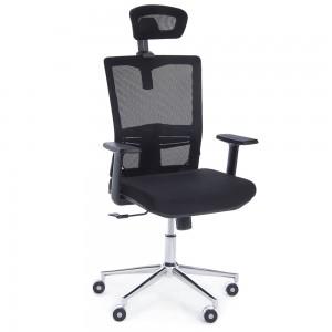 f7f5820af617 Kancelárska stolička Arthur - čierna